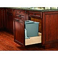 Pull-out 30-quart Double Waste Container