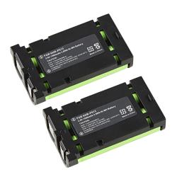 Compatible Ni-MH Battery for Panasonic HHR-P513 Cordless Phone (Pack of 2)