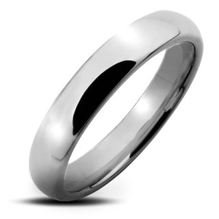 Tungsten Carbide Polished Classic Comfort-Fit Wedding Band