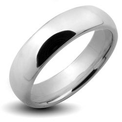 Tungsten Carbide Polished Classic Wedding Band