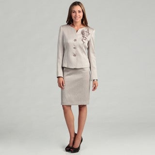 Kasper Women's Pebble 2-piece Skirt Suit