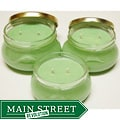 Southern Made Candles Green Tureen Soy Candles (Set of 3)