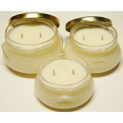Southern Made Candles Ivory Tureen Soy Candles (Set of 3)