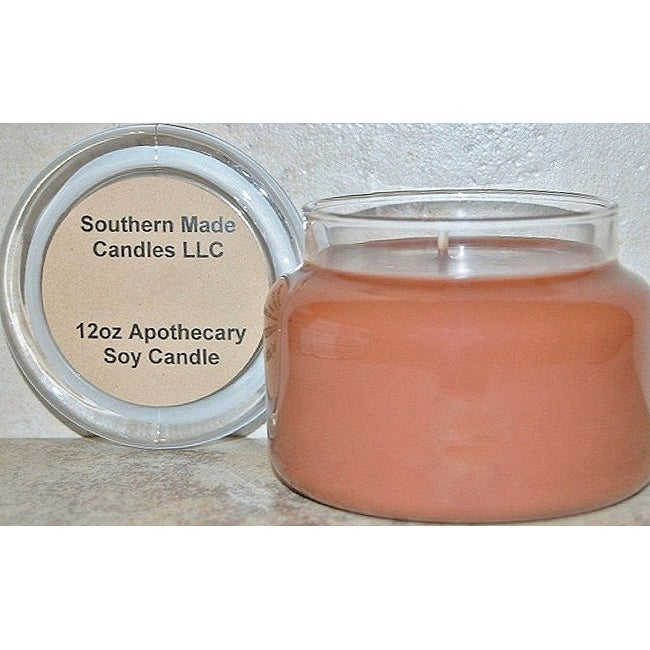 Southern Made Candles Brown 12-oz Apothecary Soy Candle