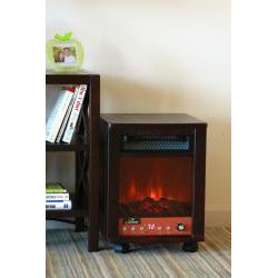 iLIVING ILG958 1500-Watt Portable Fireplace With Remote