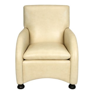 Lorenzo Softy Tan Leather Club Chair