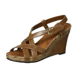 Aerosoles Women's 'At First Plush' Wedge Sandals