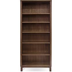 J&K 6-Shelf  Wooden Bookcase