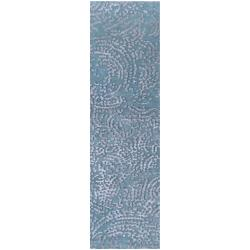 Julie Cohn Hand-knotted Greer Abstract Design Wool Rug (2 '6 x 10')