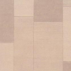 Hand-crafted Solid Casual Beige Bonneau Wool Rug (9' x 12')