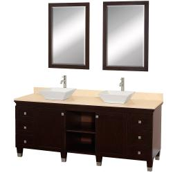 Wyndham Collection Premiere Espresso Oak Single Bathroom Vanity Sink