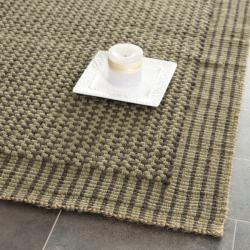 Safavieh Handwoven Loop Jute Green Rug (8' x 10')