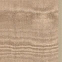 Town Beige Cotton Border Rug (6' x 9')