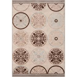Clay Cream Viscose/Chenille Rug (5'1 x 7'6)