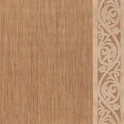 Woven Garden View Terra Cotta Olefin Area Rug (3'9 x 5'8)