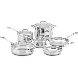 Cuisinart 44-10 Contour Stainless Steel 10-Piece Cookware Set *with Rebate*