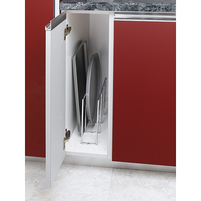 Cabinet-mount Chrome Wire Bakeware Organizer at Sears.com