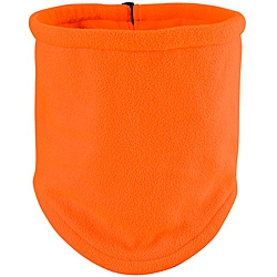 Raider Orange Deluxe Fleece Gaitor