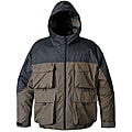 Mossi Men's RX-3 Brown/ Black Rainwear Jacket