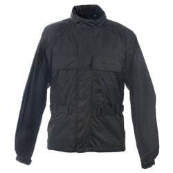 Mossi Men's RX-2 Black Motorcycle Rain Jacket