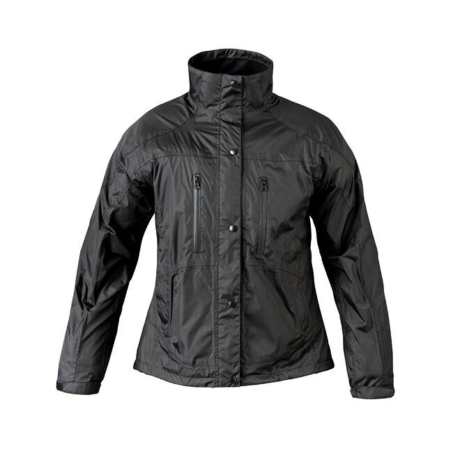 Mossi Women's RX Black Rainwear Jacket