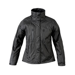 Mossi Women's RX Black Rainwear Jacket