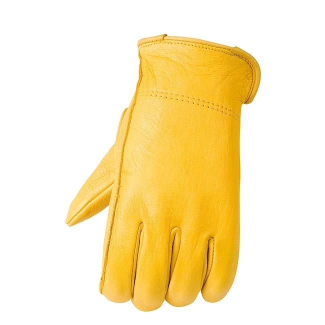 Raider Men's Tan Deerskin Gloves