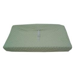ABC Heavenly Soft Minky Dot Contoured Changing Table Cover