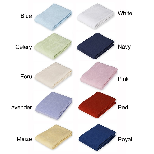 ABC Terry Cloth Flat Changing Table Cover