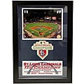 Encore Select 2011 World Series Champion St.Louis Cardinals Navy Patch Frame