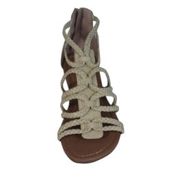Bucco Women's Braided Gladiator Sandals