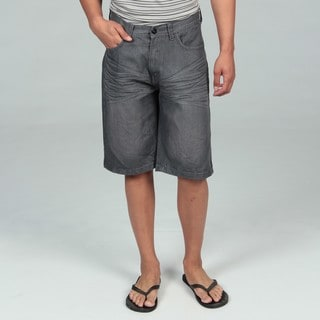 KH7OME Men's Rinse Denim Shorts