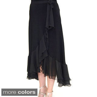 Shining Star Tiered Ruffle Wrap Skirt
