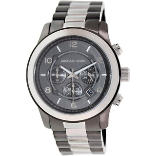 Michael Kors Men's MK8182 Runway Two-Tone Watch