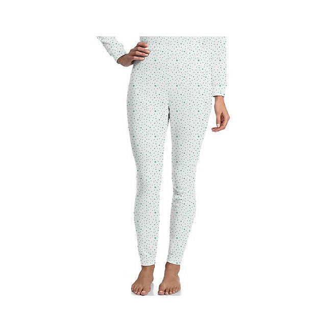 Hanes Women's Polka Dot Thermal Pant
