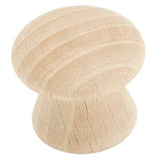Amerock 1-inch Wood Knob (Set of 10)