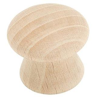 Amerock 1-inch Wood Knob (Set of 10)