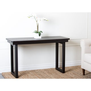 Abbyson Living Hampton Espresso Sofa Table