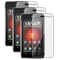 Screen Protector for Motorola Droid 4 (Pack of 3)