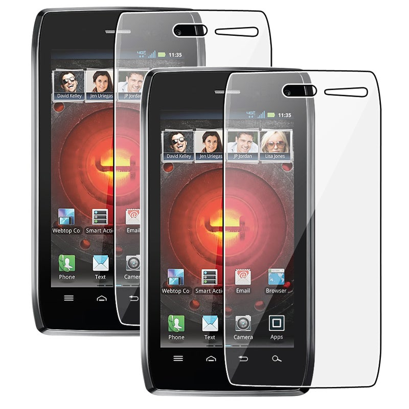 Screen Protector for Motorola Droid 4 (Pack of 2)