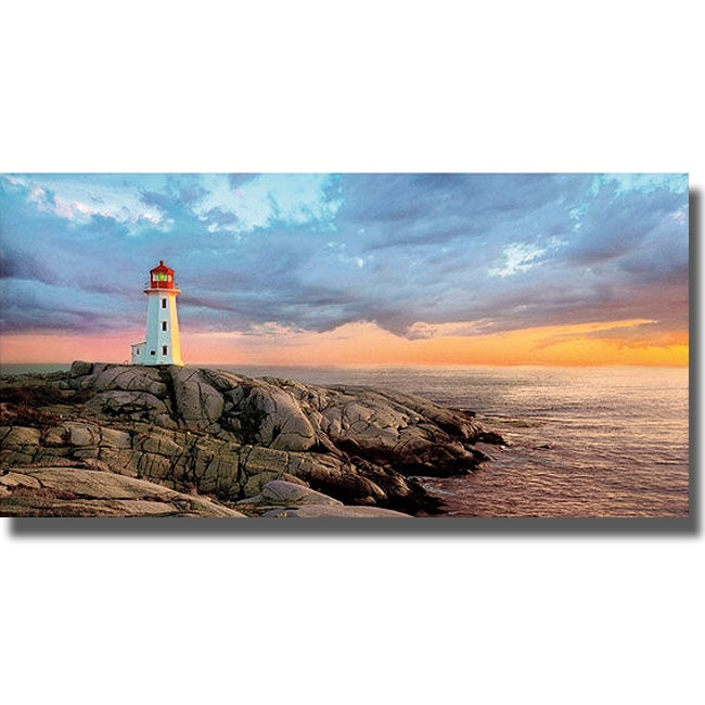 Mike Jones 'Storm Front' Canvas Art