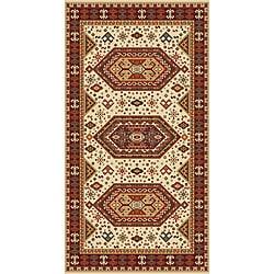 Woven Viscose Morocco Buff Area Rug (5' x 7')