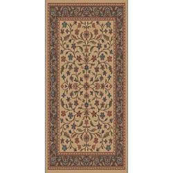 Tufted Isfahan Stone Blended Wool Area Rug (5' x 7')