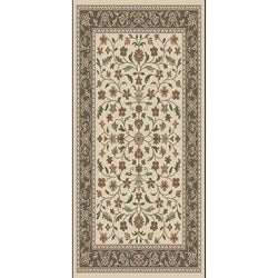 Tufted Isfahan Earth Blended Wool Area Rug (5' x 7')