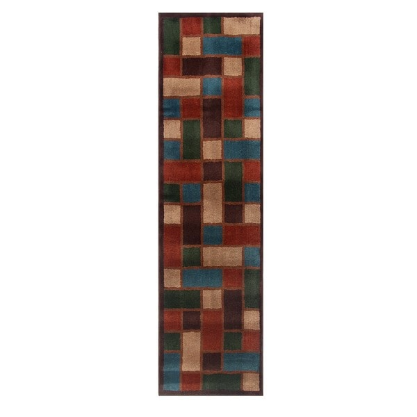 Blended Wool Savannah Stone Runner Rug (2'2 x 8')