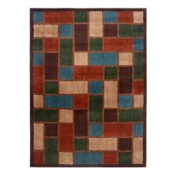 Blended Wool Savannah Stone Area Rug (5' x 7')