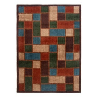 Blended Wool Savannah Stone Area Rug (5' x 7')