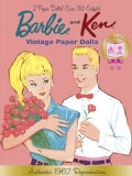 Barbie and Ken Vintage Paper Dolls: 50th Anniversary (Paperback)