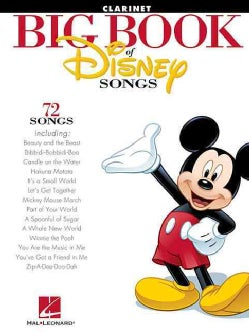 The Big Book of Disney Songs: Clarinet (Paperback)