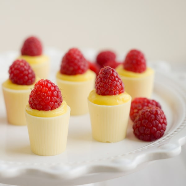 Lang's Chocolates White Chocolate Dessert Cups (Case of 128) 8741481
